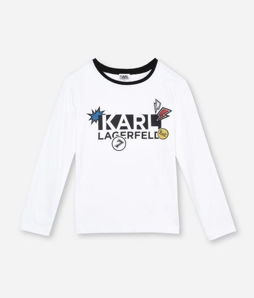 KARL LAGERFELD KL PATCH LOGO T-SHIRT  12_f