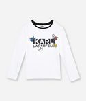 KARL LAGERFELD KL PATCH LOGO T-SHIRT  8_f