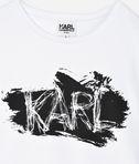 KARL LAGERFELD T-SHIRT SS KARL SCRIBBLE 8_d