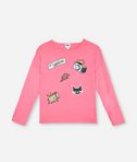 KARL LAGERFELD POP PATCH T-SHIRT 8_f