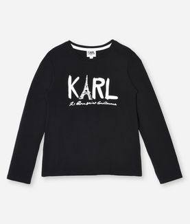 KARL LAGERFELD T-SHIRT KARL PARIS