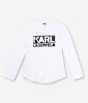 KARL LAGERFELD T-シャツ KARL LAGERFELD ロゴ 8_f