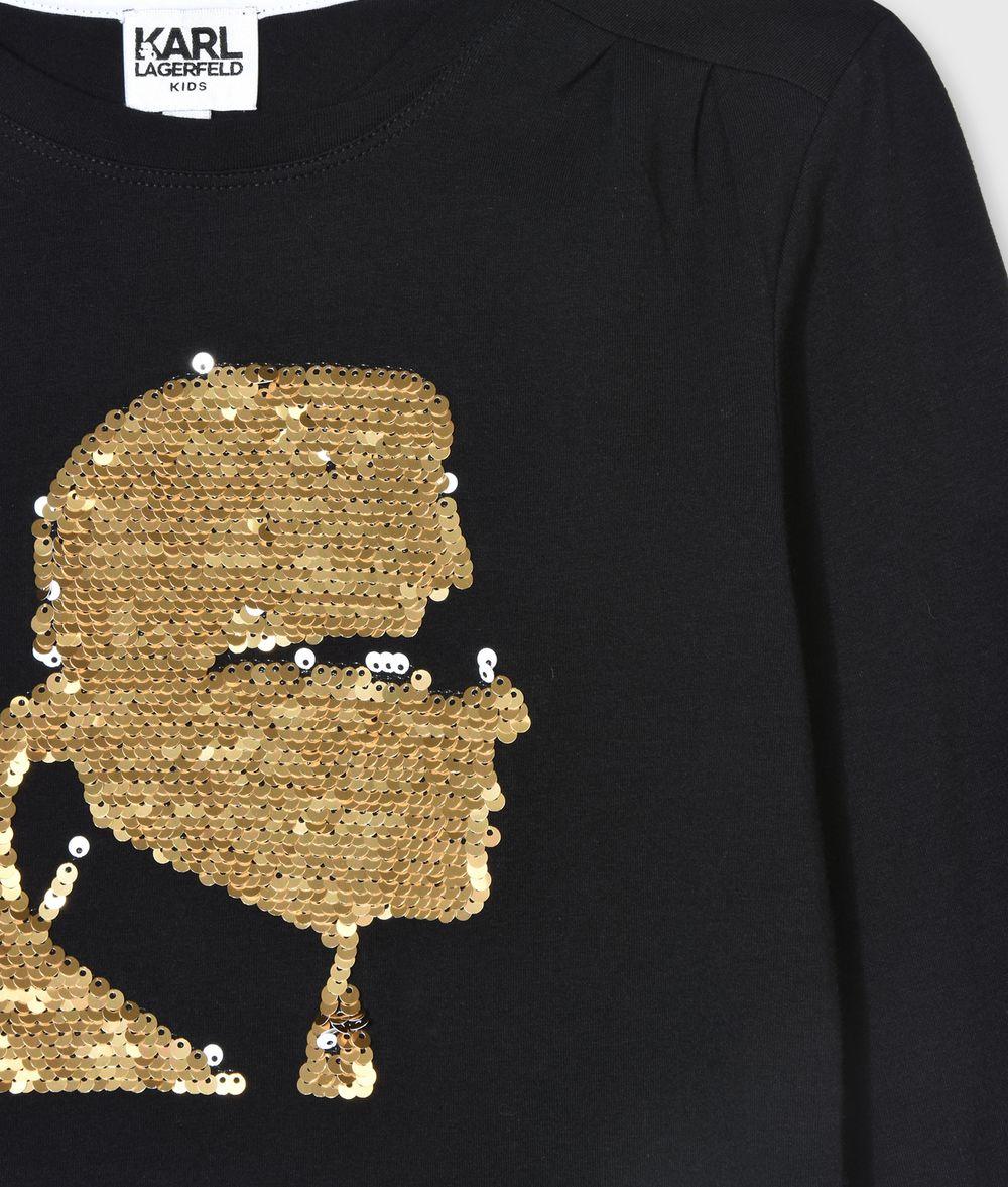 Karl Lagerfeld Kids T-Shirt avec Sequins brod/és Enfant