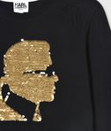 KARL LAGERFELD KARL GOLD SEQUIN T-SHIRT 8_d