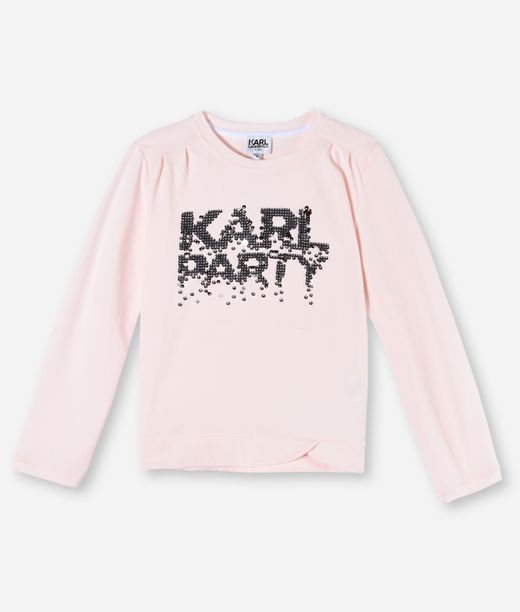 KARL LAGERFELD KARL PARTY SEQUIN T-SHIRT 12_f