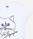 KARL LAGERFELD CHOUPETTE SKETCH T-SHIRT  8_d