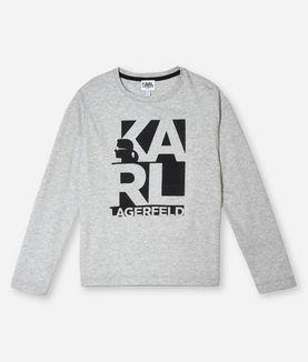 KARL LAGERFELD KARL LOGO T-SHIRT