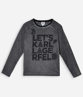 KARL LAGERFELD LETS KARL LAGERFELD T-SHIRT