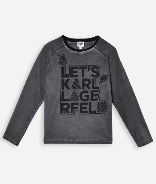 KARL LAGERFELD LETS KARL LAGERFELD T-SHIRT  12_f
