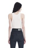 T by ALEXANDER WANG SLEEVELESS RIBBED BODYSUIT 上衣 Adult 8_n_a