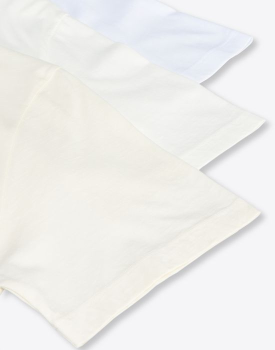 MAISON MARGIELA Pack of 3 'Stereotype' T-shirts Short sleeve t-shirt [*** pickupInStoreShippingNotGuaranteed_info ***] e