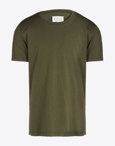 MAISON MARGIELA Short sleeve t-shirt Man Cotton jersey T-shirt f