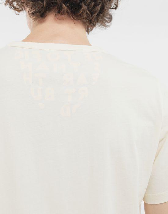 MAISON MARGIELA SIDA charity tee-shirt Short sleeve t-shirt [*** pickupInStoreShippingNotGuaranteed_info ***] a