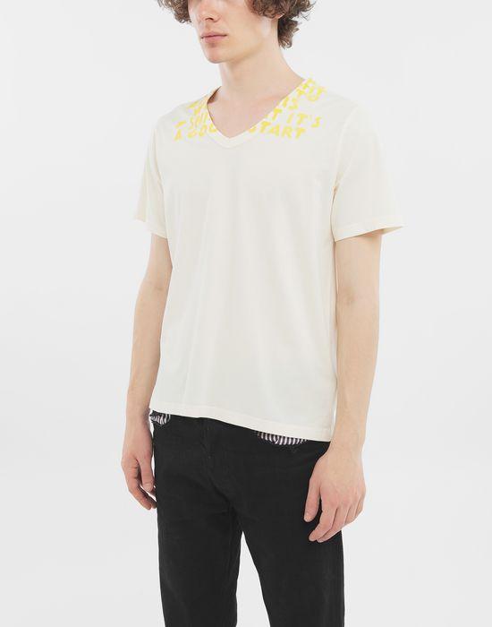MAISON MARGIELA SIDA charity tee-shirt Short sleeve t-shirt [*** pickupInStoreShippingNotGuaranteed_info ***] r
