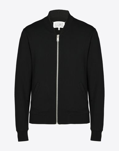 MAISON MARGIELA Sweatshirt [*** pickupInStoreShippingNotGuaranteed_info ***] Cotton bomber cardigan f