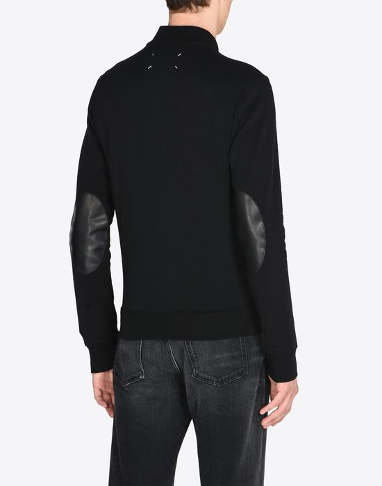 MAISON MARGIELA Cotton bomber cardigan Sweatshirt [*** pickupInStoreShippingNotGuaranteed_info ***] e