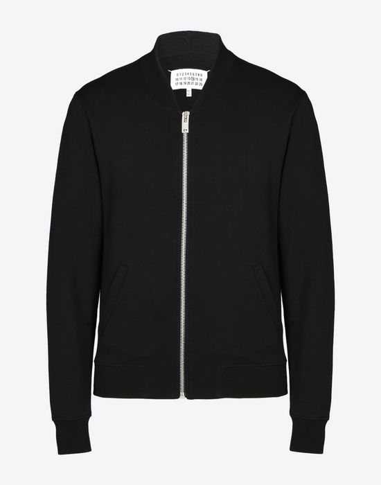 MAISON MARGIELA Cotton bomber cardigan Sweatshirt [*** pickupInStoreShippingNotGuaranteed_info ***] f