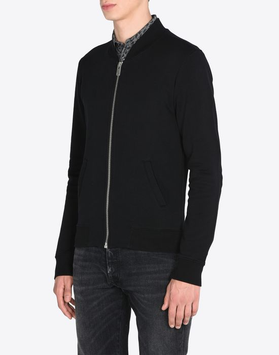 MAISON MARGIELA Cotton bomber cardigan Sweatshirt [*** pickupInStoreShippingNotGuaranteed_info ***] r