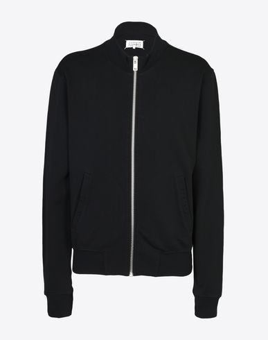 MAISON MARGIELA Sweatshirt U Sweatshirt with elbow patches f