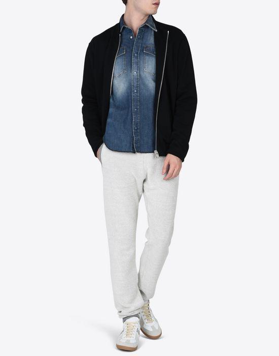 MAISON MARGIELA Sweatshirt with elbow patches Sweatshirt [*** pickupInStoreShippingNotGuaranteed_info ***] d