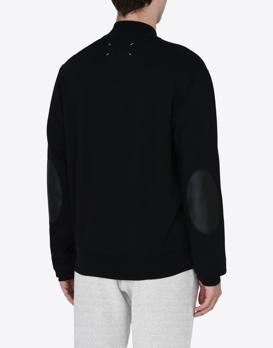 MAISON MARGIELA Sweatshirt with elbow patches Sweatshirt [*** pickupInStoreShippingNotGuaranteed_info ***] e