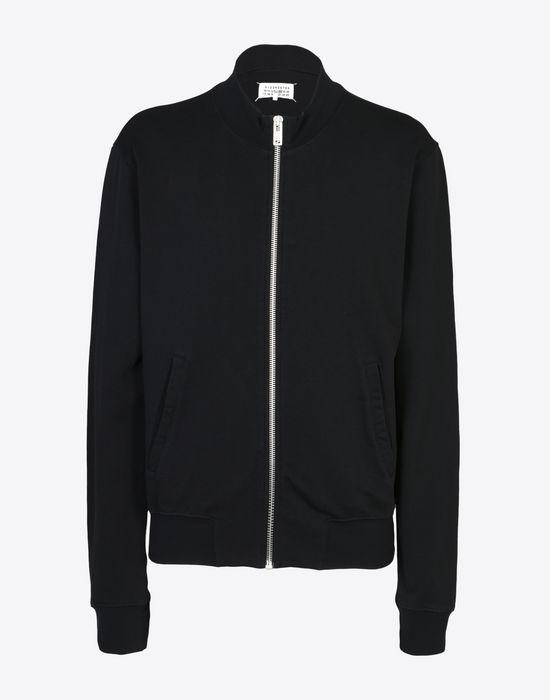 MAISON MARGIELA Sweatshirt with elbow patches Sweatshirt [*** pickupInStoreShippingNotGuaranteed_info ***] f