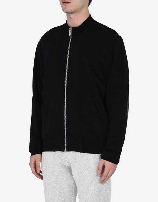MAISON MARGIELA Sweatshirt with elbow patches Sweatshirt [*** pickupInStoreShippingNotGuaranteed_info ***] r