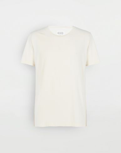MAISON MARGIELA Short sleeve t-shirt Man Dyed cotton tripack tee-shirts f