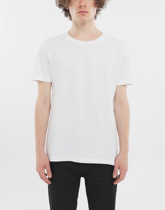MAISON MARGIELA Dyed cotton tripack tee-shirts Short sleeve t-shirt [*** pickupInStoreShippingNotGuaranteed_info ***] b
