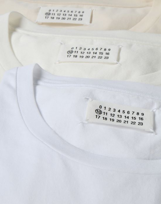MAISON MARGIELA Dyed cotton tripack tee-shirts Short sleeve t-shirt [*** pickupInStoreShippingNotGuaranteed_info ***] d