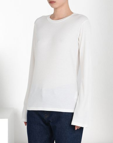 MM6 MAISON MARGIELA Long sleeve t-shirt D Rib knit long sleeve T-shirt f
