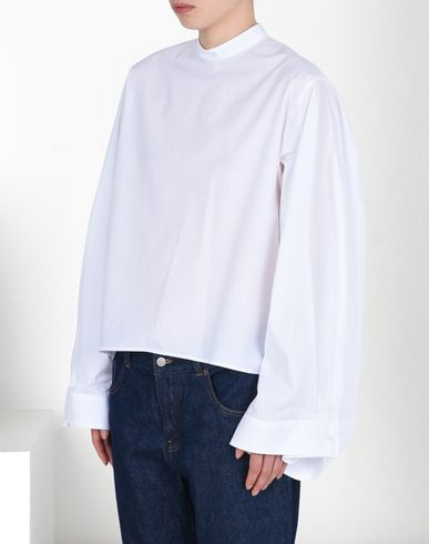 MM6 MAISON MARGIELA Top D Oversized cotton poplin shirt f