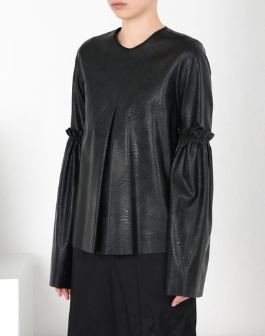 MM6 MAISON MARGIELA Top D Top with ruffled sleeves f