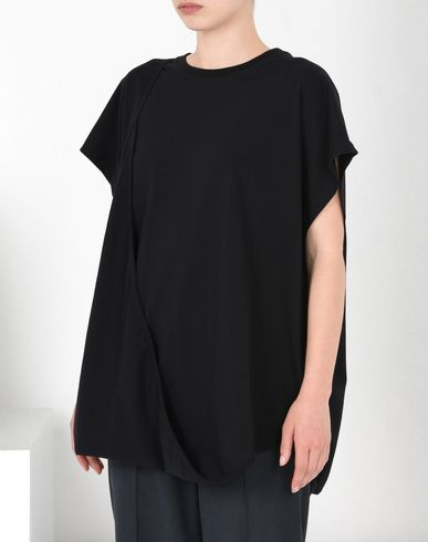 MM6 MAISON MARGIELA Top D Asymmetric cotton jersey top f
