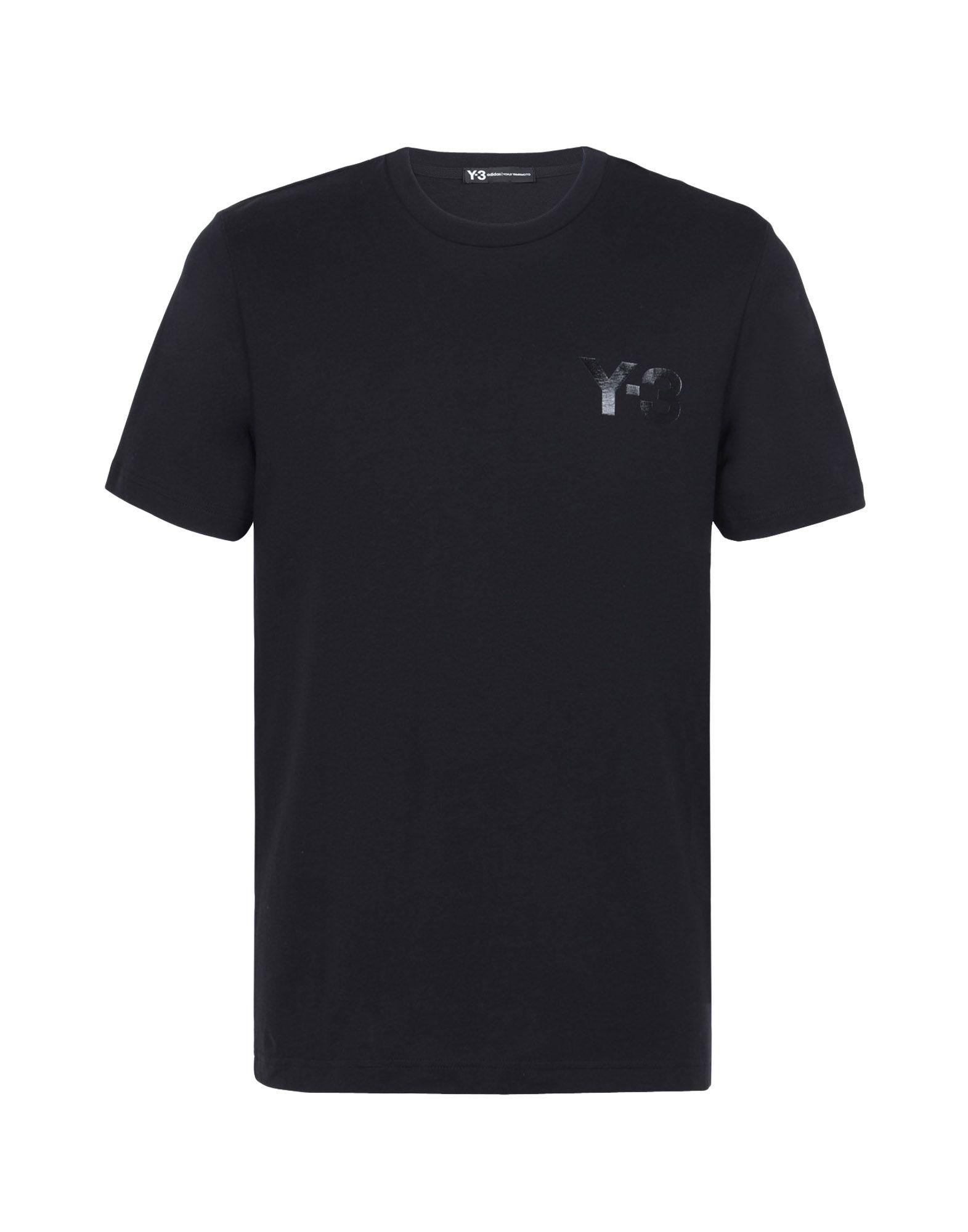 Black t shirt for man - Y 3 Classic T Shirt Tees Polos Man Y 3 Adidas