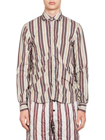 Marni Shirt in cotton with Terra print Man