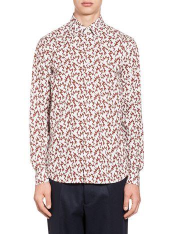 Marni Shirt Spike print Man