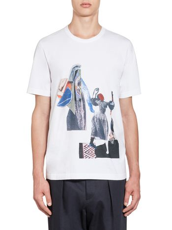 Marni Sally Smart jersey T-shirt Man