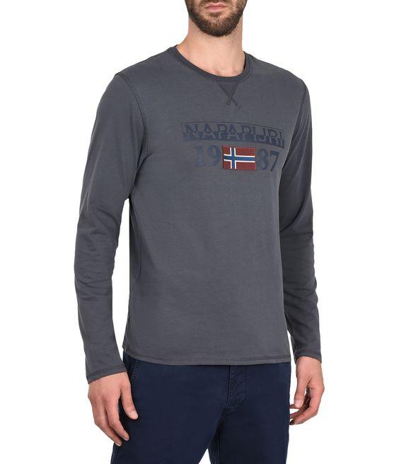 NAPAPIJRI SOLIN LONG SLEEVES Long sleeve T-shirt Man f
