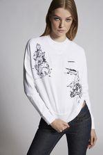 DSQUARED2 Animal Sweatshirt Sweatshirt Woman