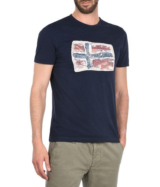 NAPAPIJRI SACHS SHORT SLEEVES Kurzärmliges T-Shirt Herren f