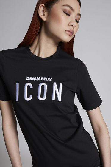 DSQUARED2 Short sleeve t-shirt Woman S75GC0872S22427313 m