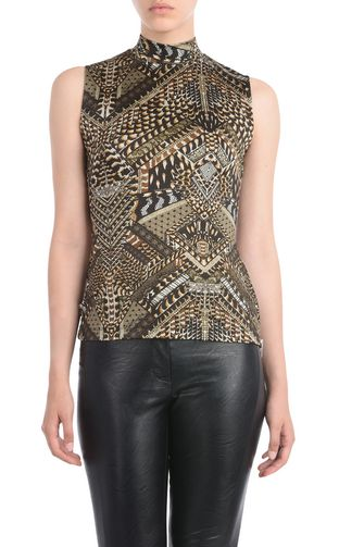 JUST CAVALLI Top D Long-sleeved, V neck sweater f