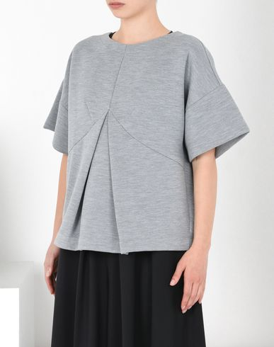MM6 MAISON MARGIELA Top D Pleated sweatshirt top f