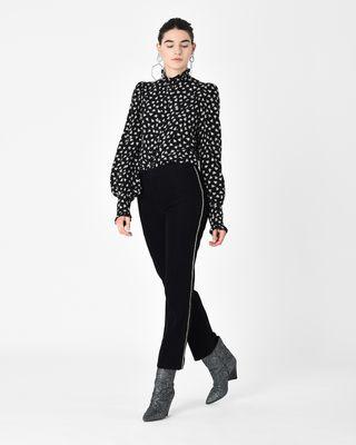 ISABEL MARANT SHIRT & BLOUSE D SLOAN floral print silk shirt r