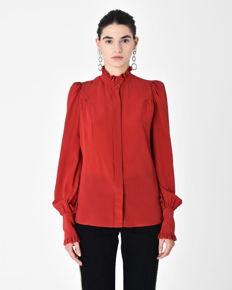 SLOAN Victorian silk shirt ISABEL MARANT