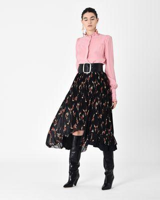 ISABEL MARANT SHIRT & BLOUSE D SLOAN Victorian silk shirt r