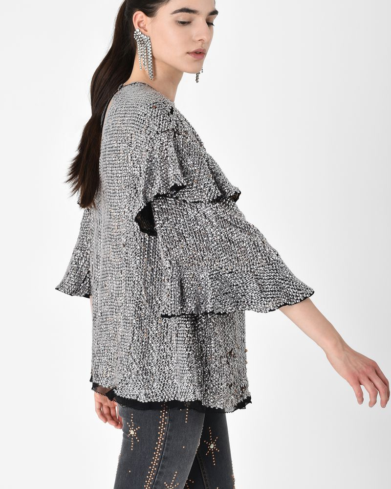 BASILE sequin embroidered top ISABEL MARANT