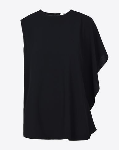 MAISON MARGIELA Top D Asymmetric ruffle top f