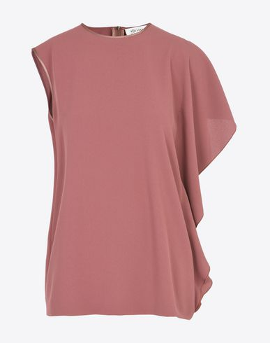 MAISON MARGIELA 1 Top D Asymmetric ruffle top f
